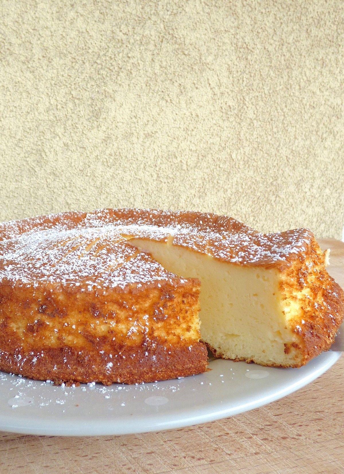 Gateau fromage blanc citron sans gluten