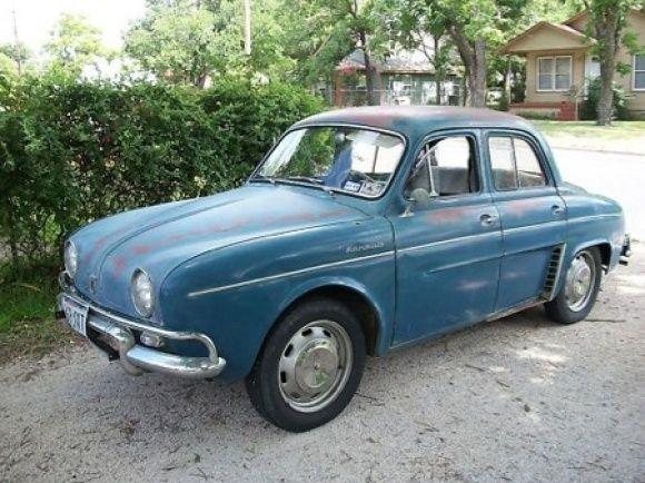 1959 Renault Dauphine For Sale Alaska Front Renault Dauphine European Cars