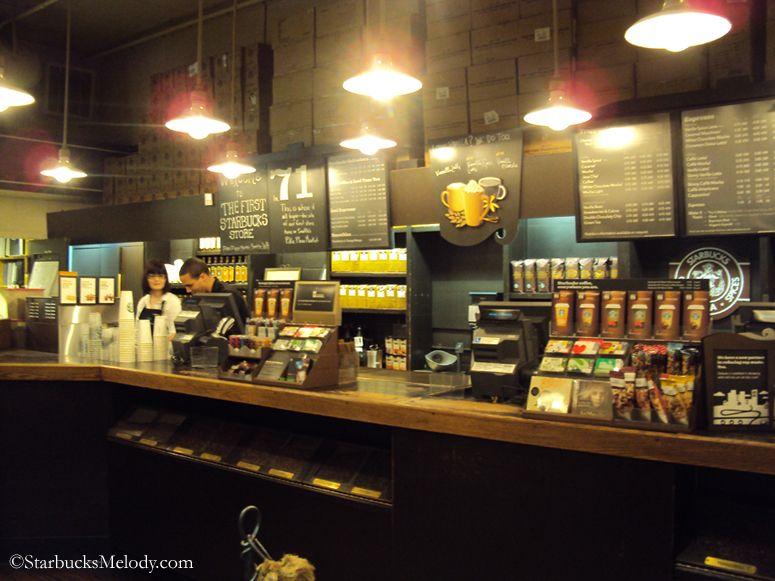 Starbucks Store Interior