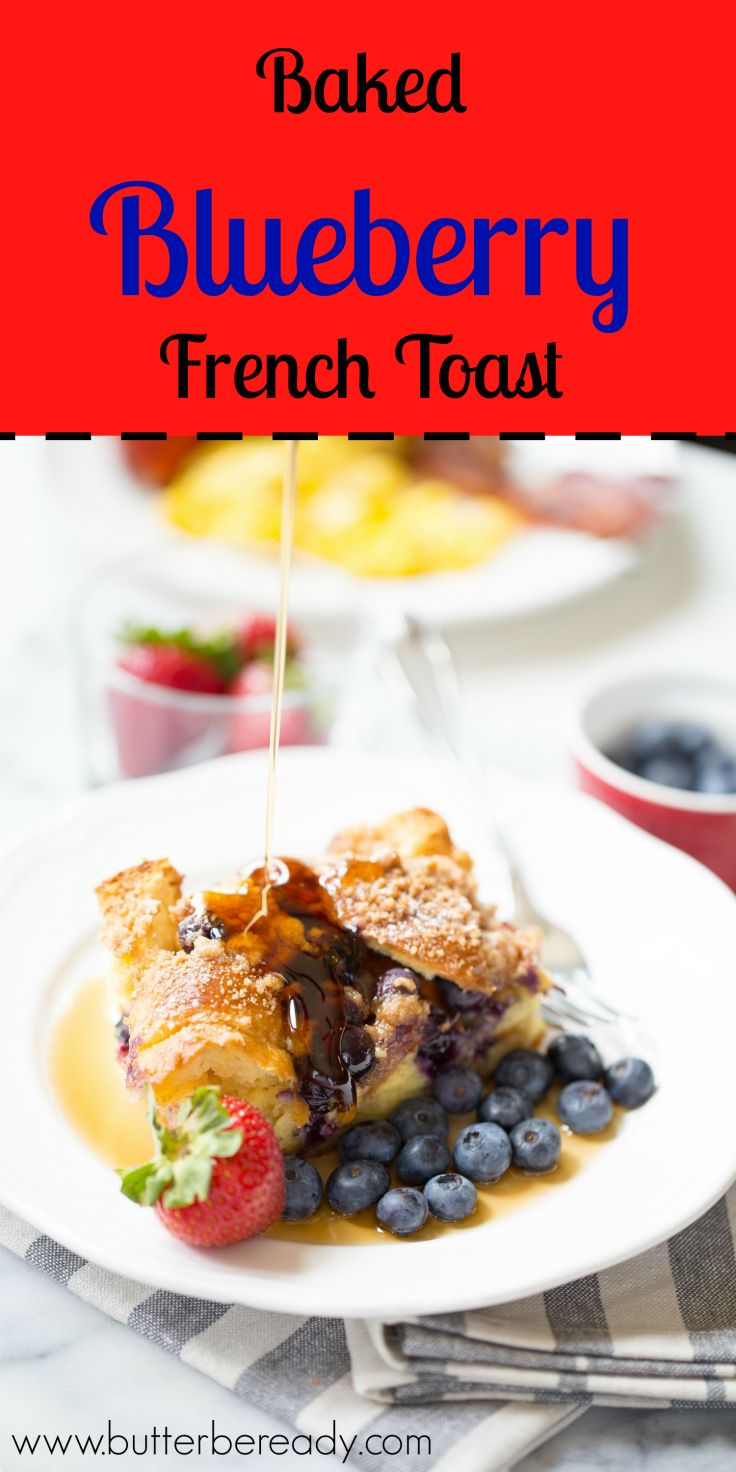 This super easy make-ahead breakfast is so yummy. Prep all the ingredients overnight and simply bake it in the morning!