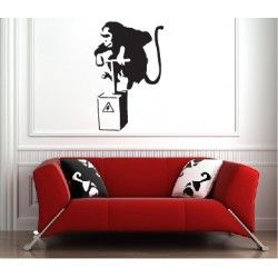 Monkey Bomb - Wall Decal