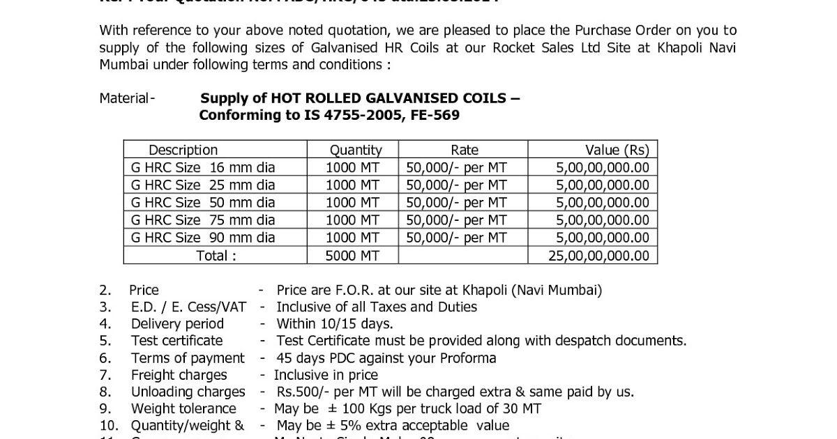 Free Rate Quotation Sample Quotation Sample Quotations