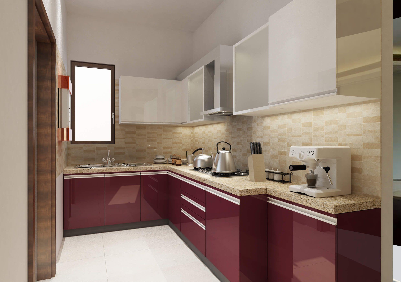 Modular Kitchen Design Ideas For Indian Homes   Kitchen design ...
