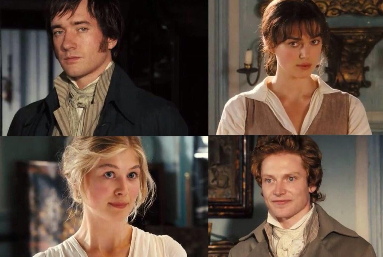 Bingley And Jane Darcy And Lizzie Orgullo Y Prejuicio Prejuicios Orgullo