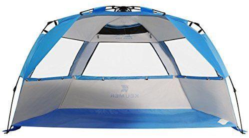 Amazon Com G4free Easy Set Up Beach Tent Pop Up Sun