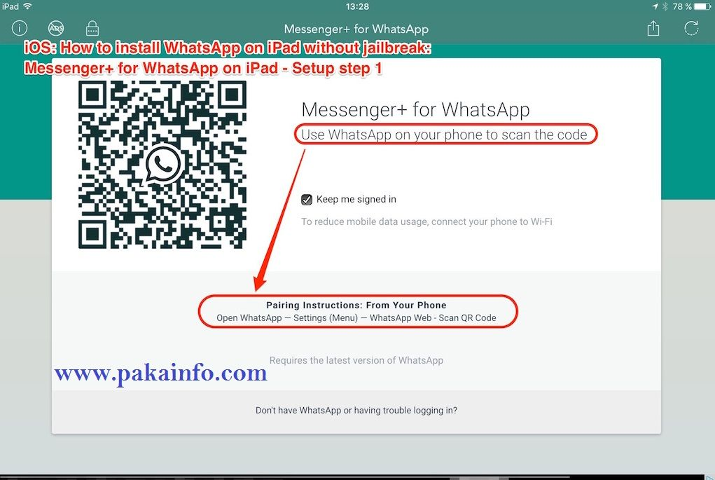 Install Whatsapp On Ipad Without Iphone Tutorials 1 Iphone