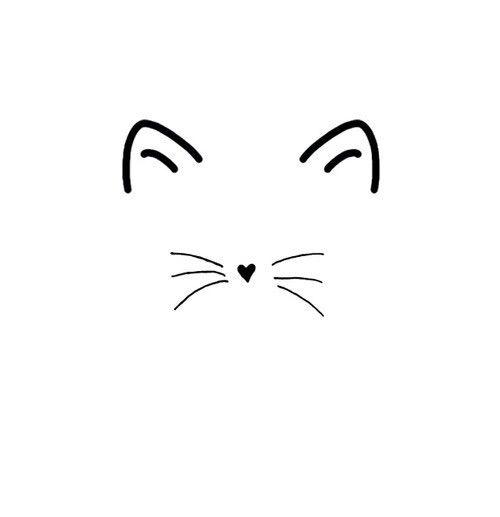 Best 25 Simple Cat Drawing Ideas On Pinterest