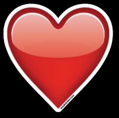 Heavy Black Heart Emoji Stickers Emojis Emoticonos