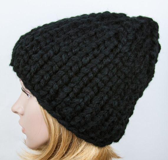 tricoter un bonnet grosse maille