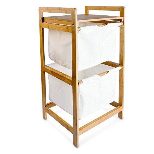 relaxdays 10016333 w schesortierer 2 f cher w schekorb mi diy organisieren pinterest. Black Bedroom Furniture Sets. Home Design Ideas