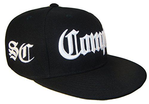 The Hat Shoppe Compton SC South Central Flat Bill Snapback Flat Bill Cap  (One Size af3cc8998a06