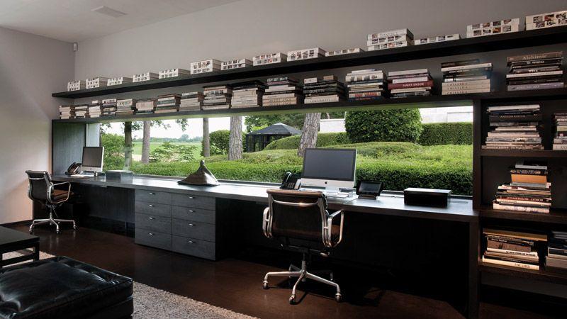 home office marc corbiau bureau d 39 architecture home. Black Bedroom Furniture Sets. Home Design Ideas