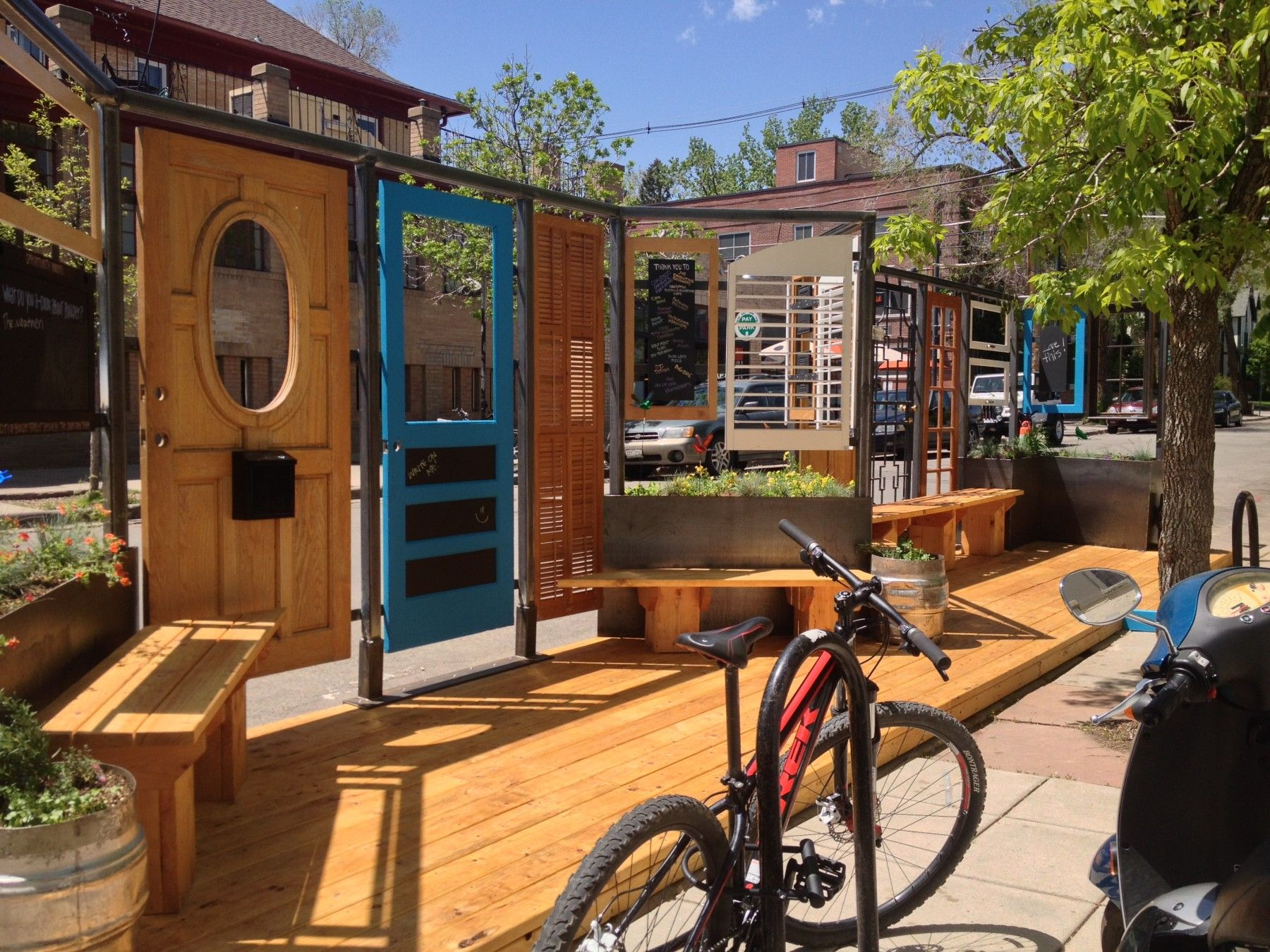 A Design Competition for Boulder's Parklet on The Hill In ...