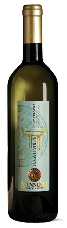 CODA DI VOLPE POMPEIANO WHITE WINE P.G.I.  Typical white wine of the Pompeian area in Campania Italian region, of pale straw yellow color, the nose has a good aromatic intensity with notes of ripe fruit and broom.