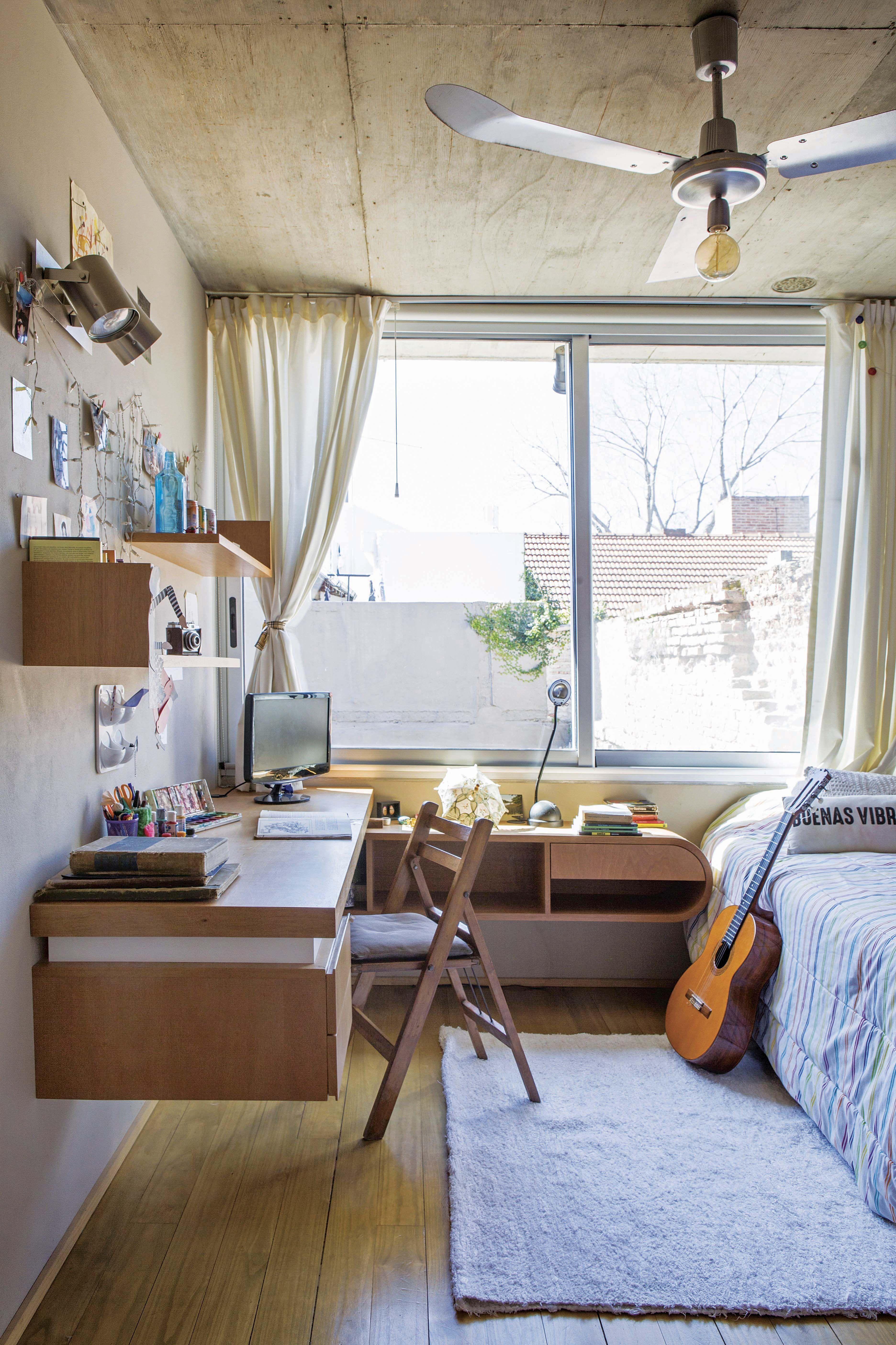 Con sello de autor: recorremos la casa de una pareja de arquitectos y sus hijas