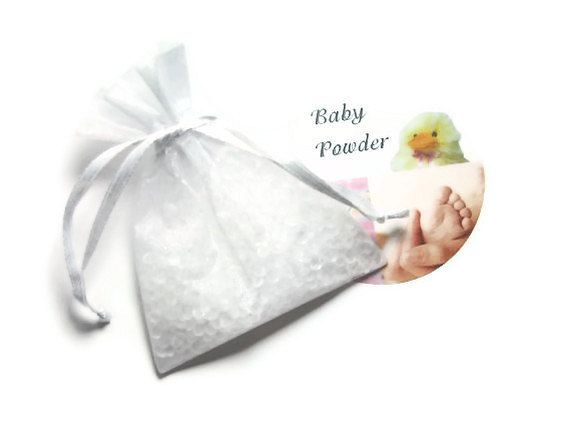 1 Baby Powder Scented Sachets Aroma Beads By