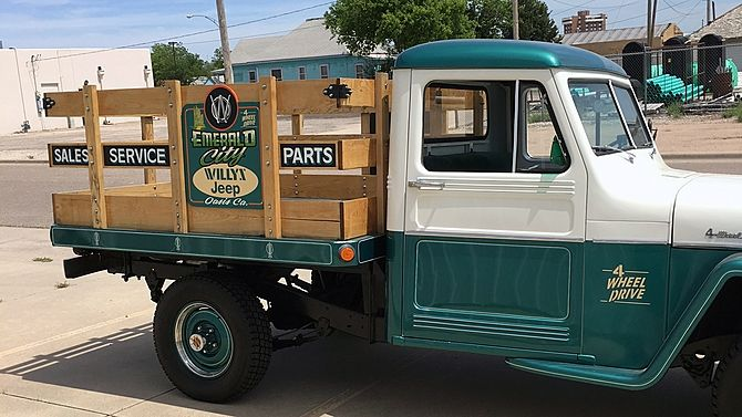 1960 Willys Stake Bed Willys Willys Jeep Classic Jeeps