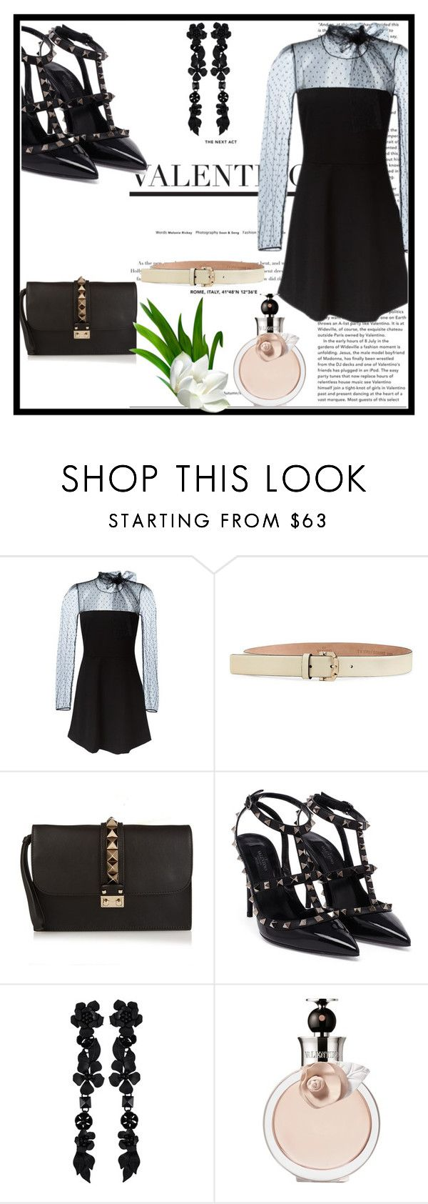 """""""Valentino Dress"""" by letiperez-reall ❤ liked on Polyvore featuring RED Valentino and Valentino"""