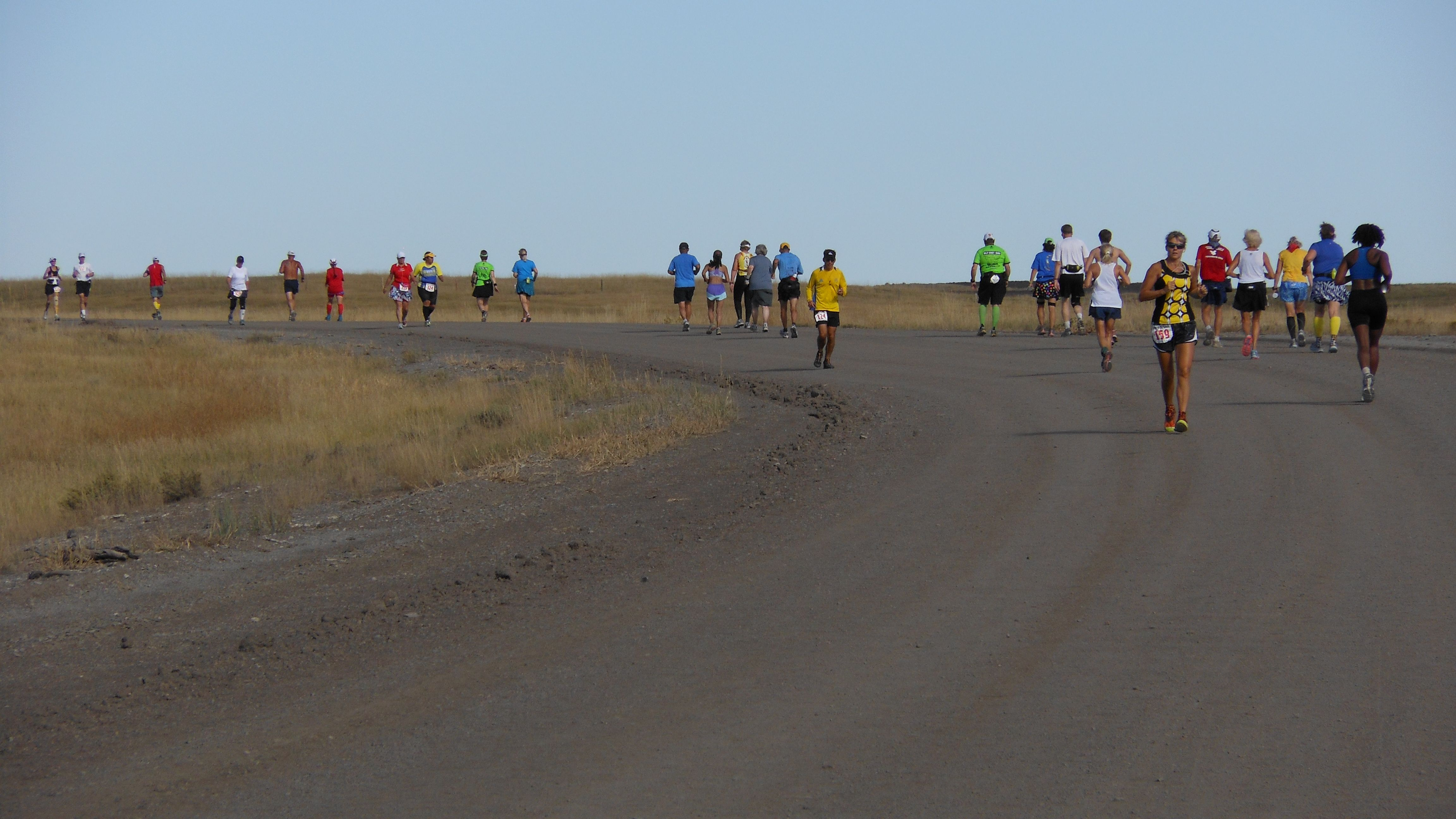 Center of nation marathon series day 3 colony wyoming