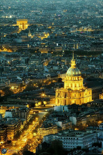 Hôtel des Invalides & Arc de Triomphe