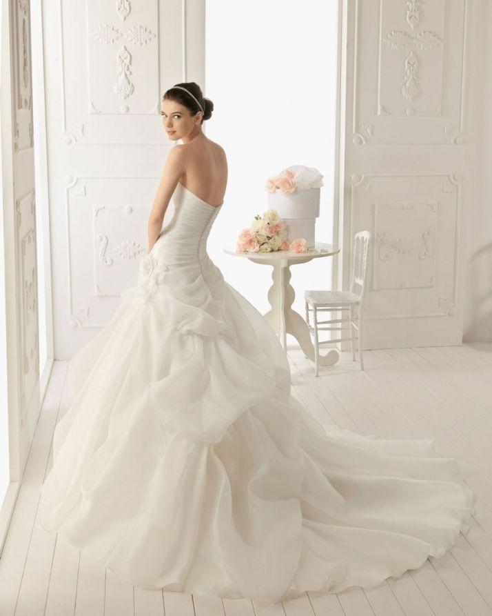 Vestido de novia modelo rocio