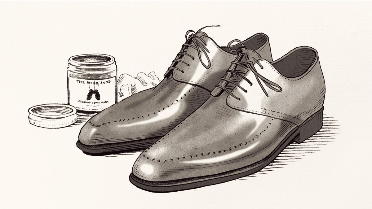 How To Polish Shoes   The Knack   The Journal   Issue 181   03 September  2014   MR PORTER   Dress shoes men, Shoes, Designer clothes for men