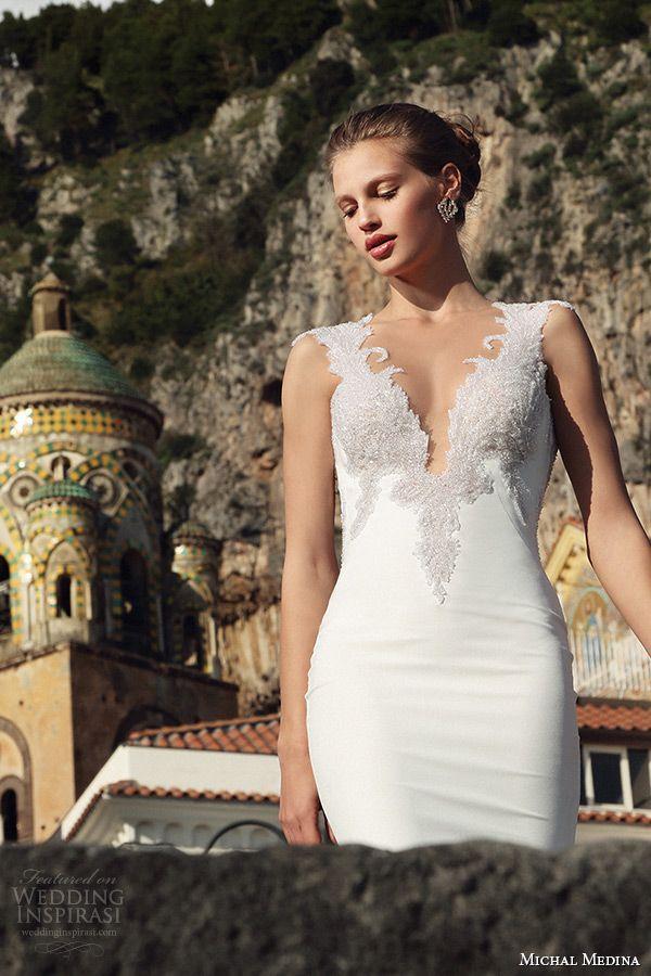 Michal Medina Bridal Spring 2016 Couture Wedding Dresses | Wedding ...