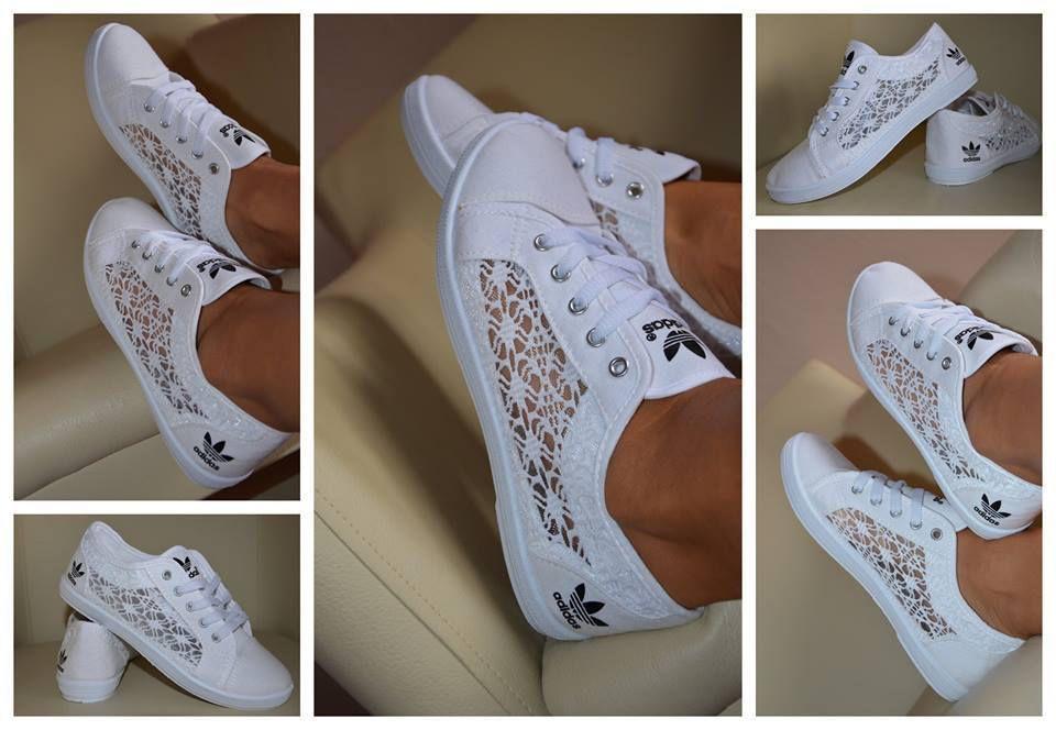 Adidas tenisky s čipkou