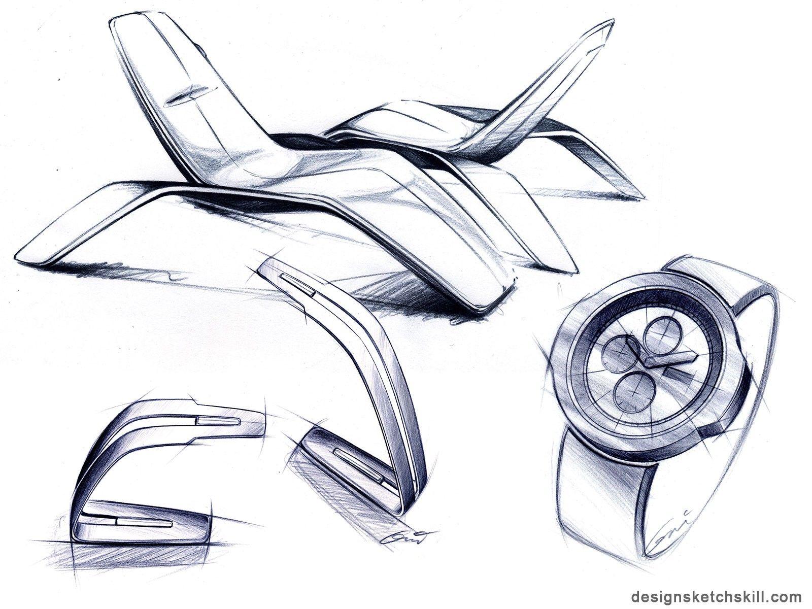 Industrial design sketches furniture - Sketches European Styleindustrial Designfurniture