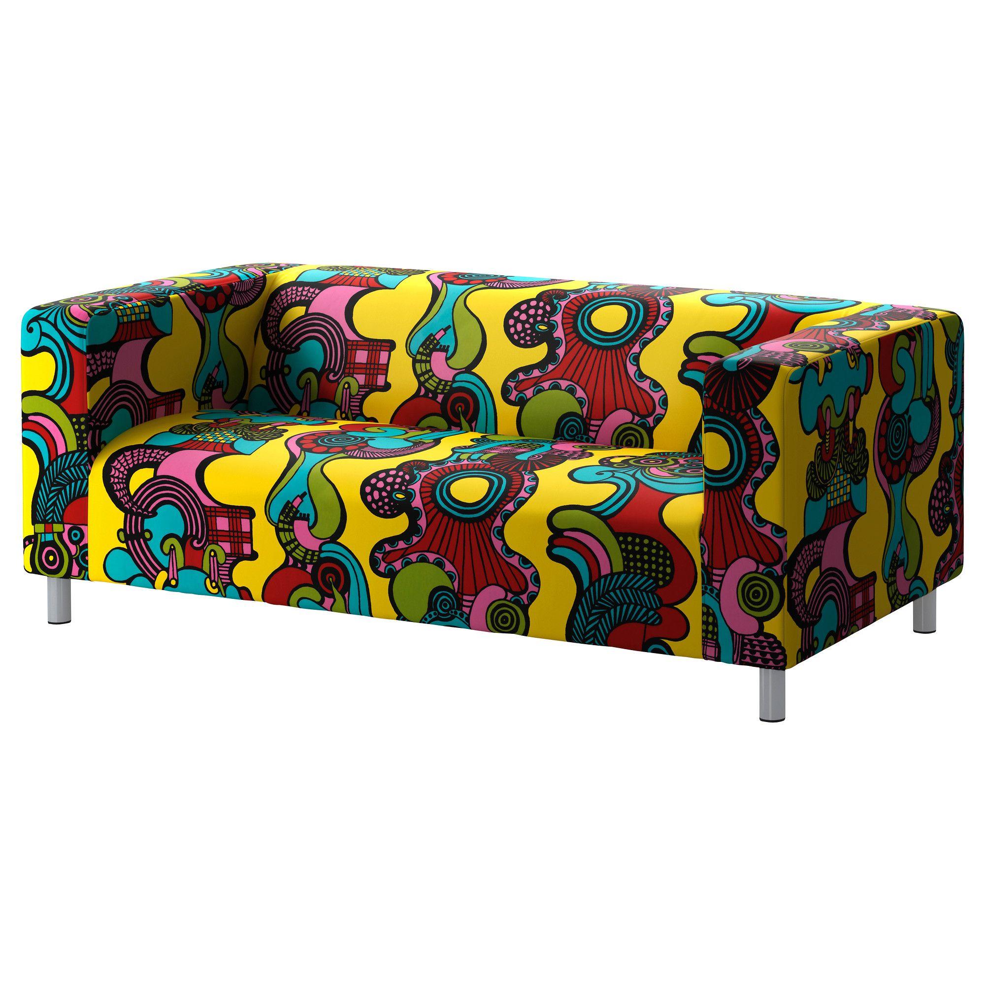 Klippan Cover Two Seat Sofa Mollaryd Multicolour Ikea