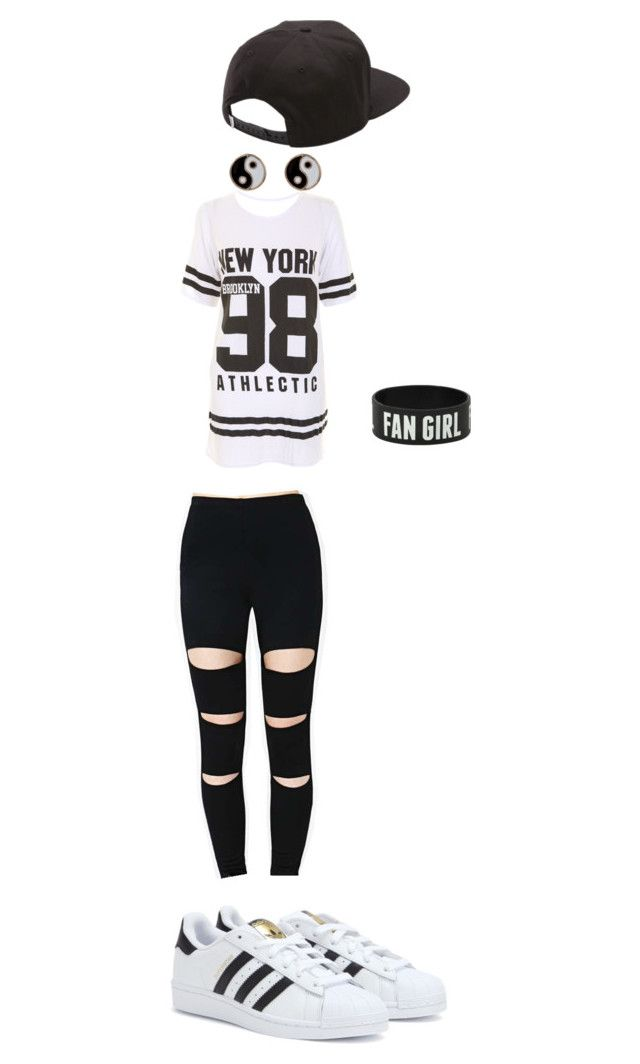 """Kennedy"" by alexaw-2 on Polyvore featuring adidas, Vans and Accessorize"
