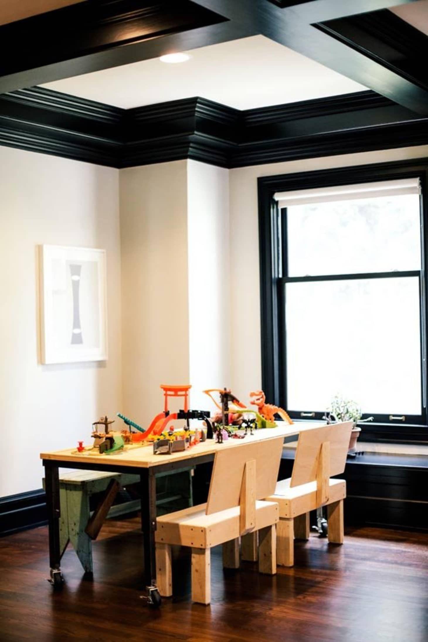 Design Dare Paint Your Trim Black Interior Trim Black Trim Interior Home