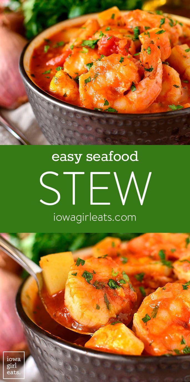 Easy Seafood Stew - Gluten-Free Stew Recipe