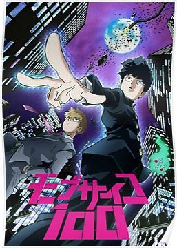 Mod Psycho 100' Poster by EntropicAN | Products | Mob psycho