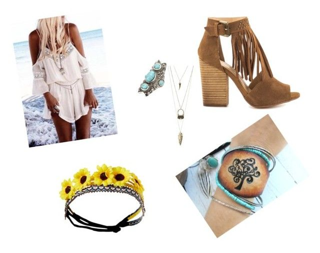 """""""Boho"""" by suicidalprincess01 ❤ liked on Polyvore featuring Charlotte Russe, Wet Seal and Chinese Laundry"""