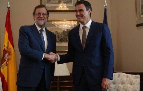 PSOE leader Pedro Sanchez won't back PP leader Mariano Rajoy's bid to become…