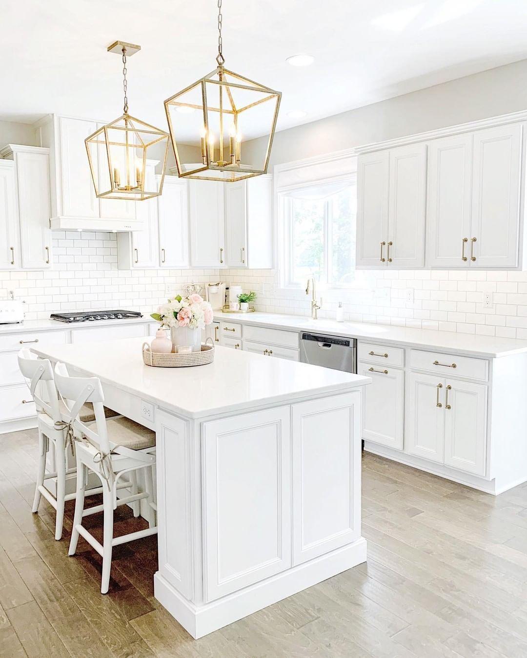 Download Wallpaper White Kitchen Inspo