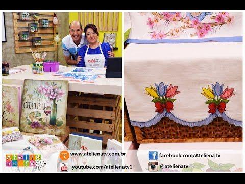 Ateliê na TV - Rede Brasil - 28.06.16 - Mayumi Takushi e Márcia Caires - YouTube