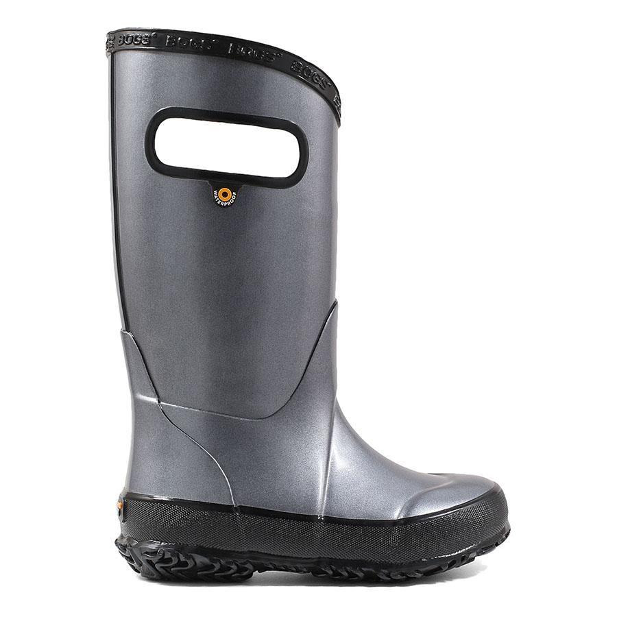 Rainboot Metallic Plush In 2020 Rain Boots Kids Rain Boots Boots