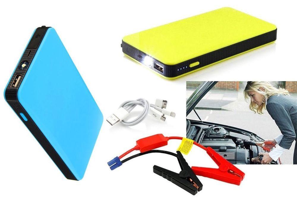 Portable  Slim Mini  20000mAh Car Jump Starter Engine Battery Charger Power Bank