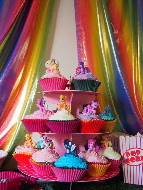 Decoraci n de fiestas infantiles de my little pony - Decoracion cumpleanos infantiles ...