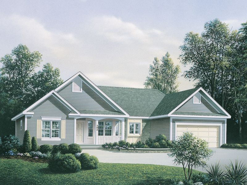 Oakpier Country Home House Plans New House Plans House Floor Plans