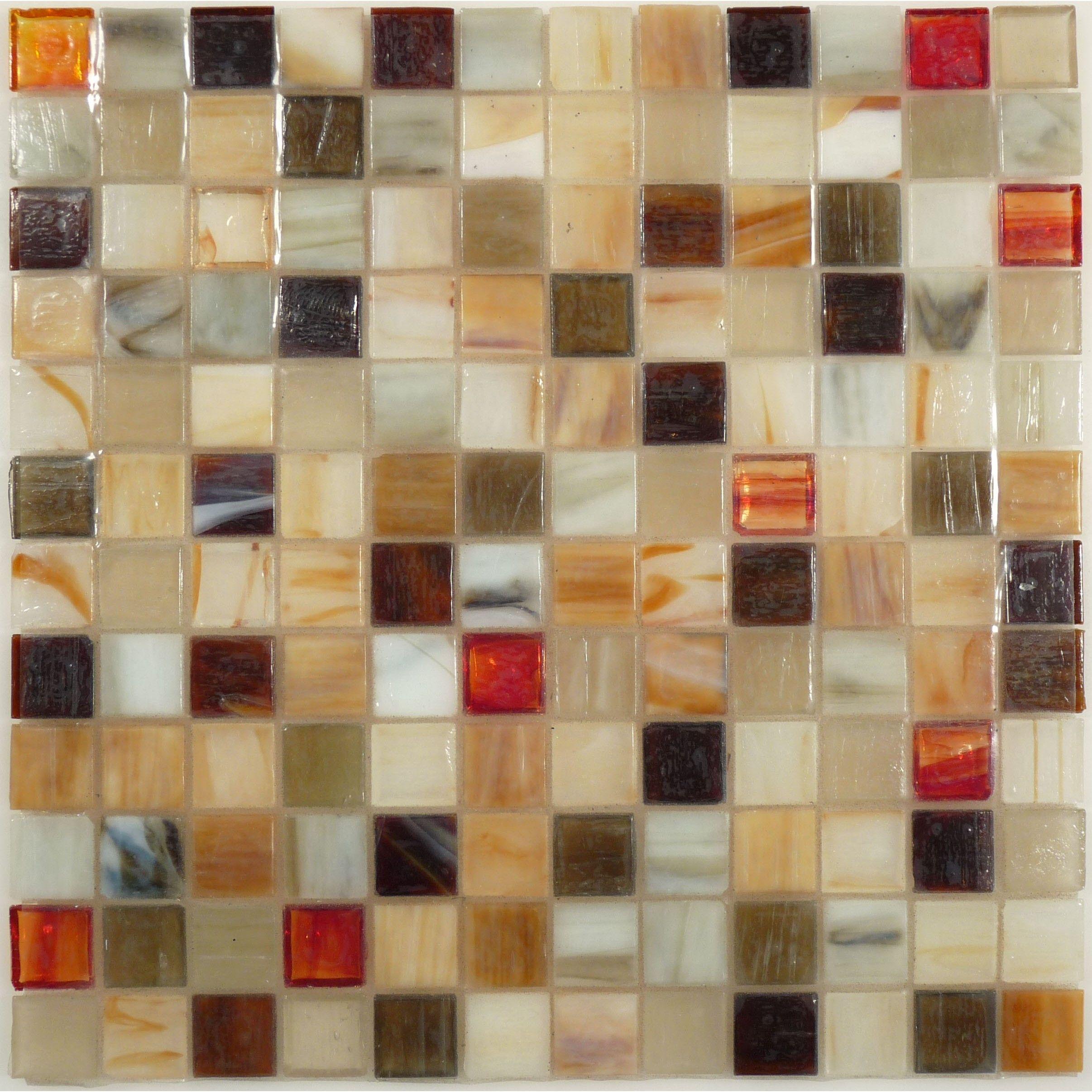 """Sheet Size: 12 1/2"""" X 12 1/2"""" Tile Size: 1"""" X 1"""" Tile"""