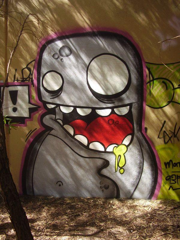 Unduh 930 Gambar Grafiti Monster Keren
