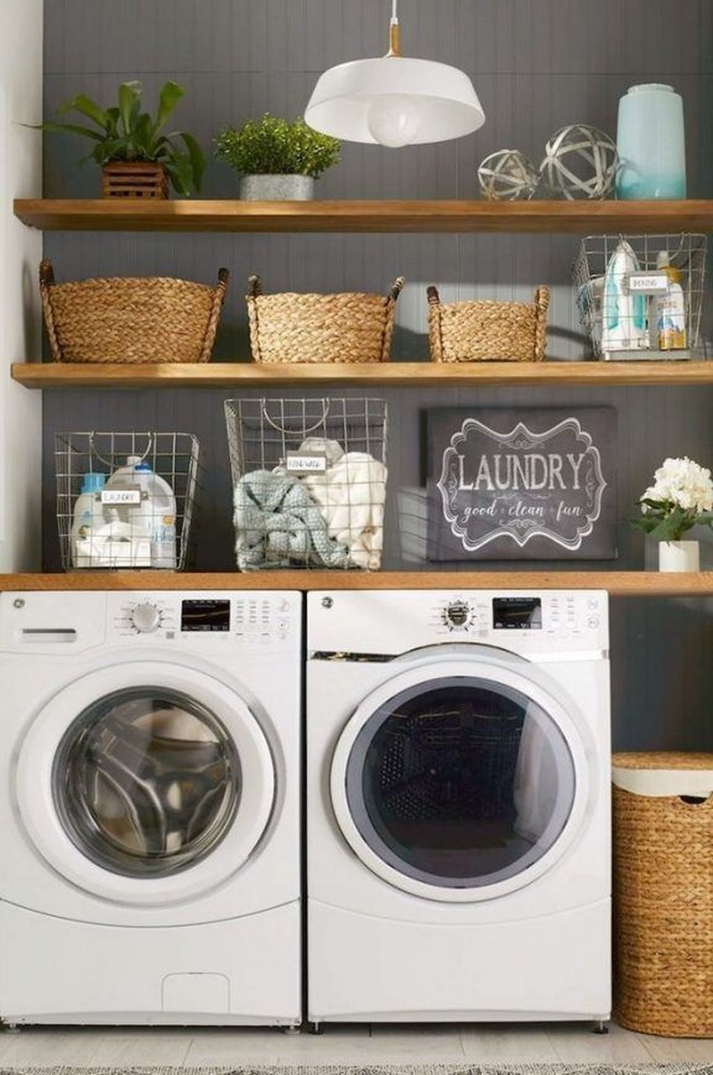 33 Minimalist Small Laundry Room Design And Decor Ideas