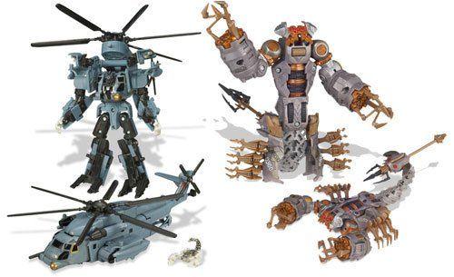 Transformers Movie Figures: Blackout & Scorponok Desert Attack 2-Pack [Toy]. Transformers Desert Attack.