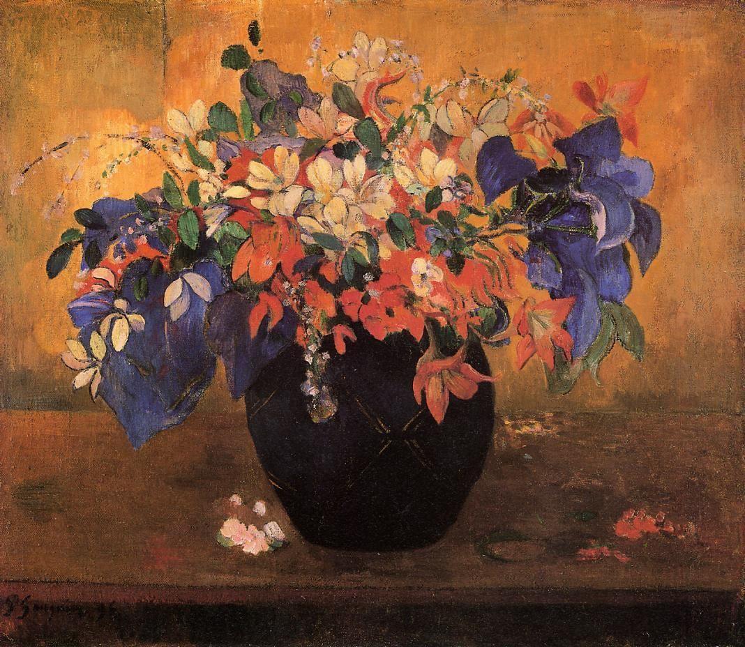 Flower Piece 1896 Paul gauguin, Post impressionism