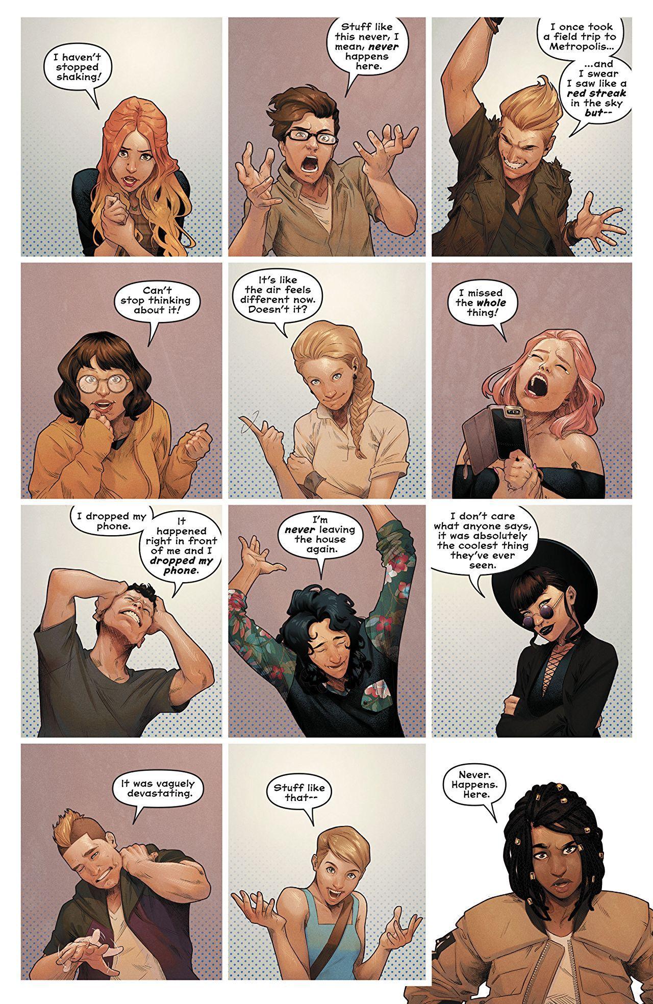 Naomi (2019-) #1   Comic Pages   Comics, David walker, Comic page