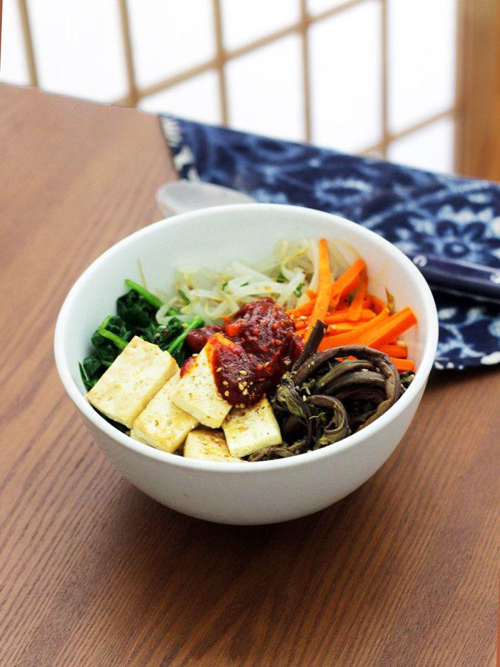 Vegan bibimbap mixed rice bowl rice bowls vegans and bibimbap vegan bibimbap mixed rice bowl vegan korean foodkorean food recipesvegetarian forumfinder Gallery