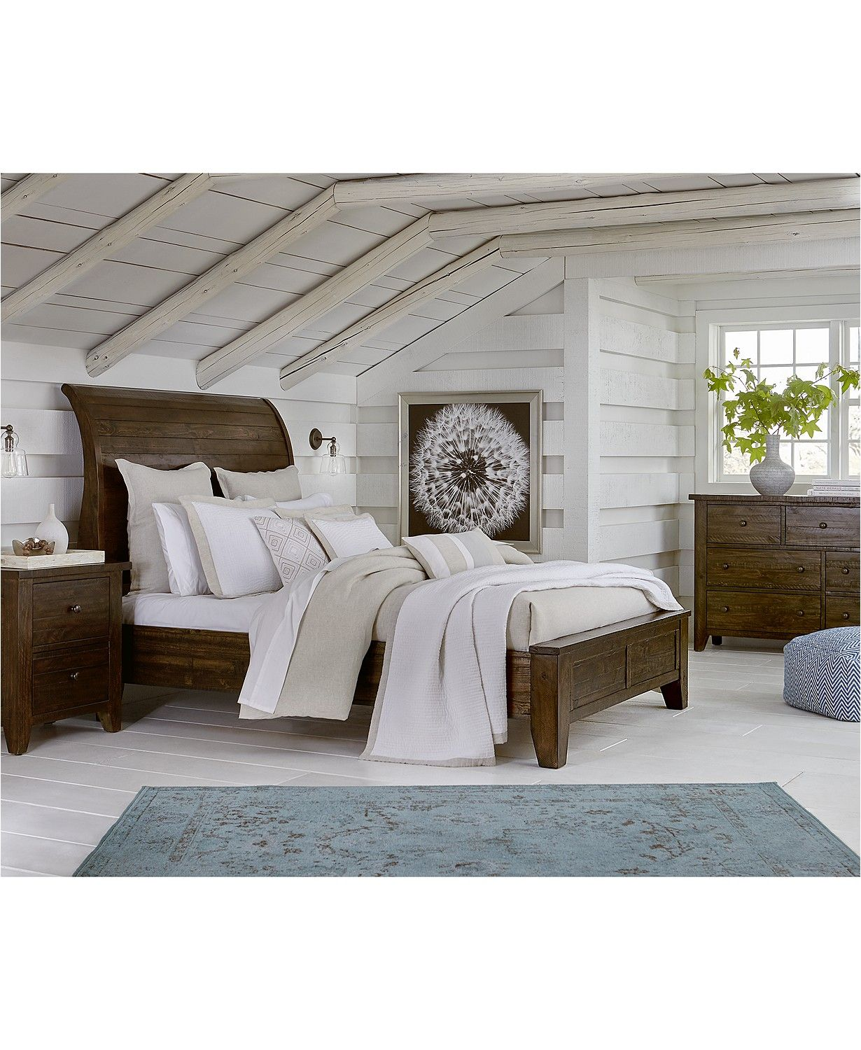 ember king bed created for macy's  furniture  macy's